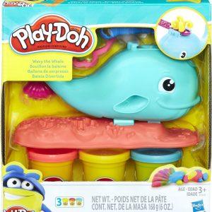 Play-Doh Wallie de Walvis - Klei