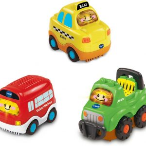 VTech Toet Toet Auto's Trio Pack City - Speelfiguren