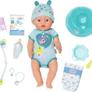 BABY born? Soft Touch Jongen - Interactieve babypop - 43cm
