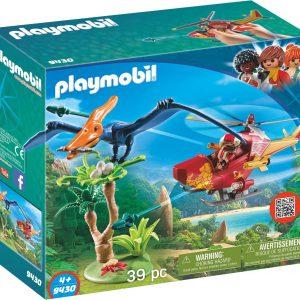 PLAYMOBIL  Helikopter met Pteranodon - 9430