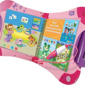 VTech MagiBook Roze (Inclusief Activiteitenboek: Een Dag Uit Het Dagelijks Leven)