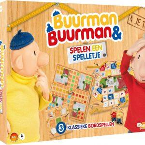 Buurman en Buurman spelen een spelletje
