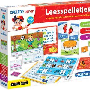 Clementoni spelend leren Leesspelletjes - Educatief spel
