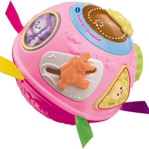 VTech Baby Dieren Draaibal Roze - Interactieve Bal