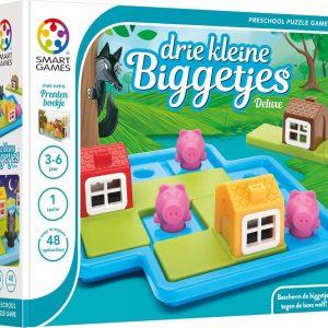 Drie Kleine Biggetjes Deluxe - Kinderspel