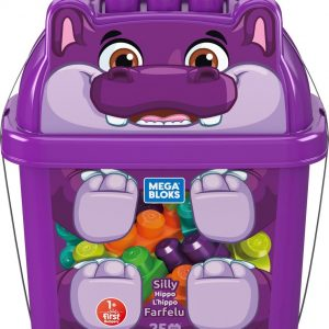 Fisher Price Mega Bloks -  Silly Nijlpaard Bouwset