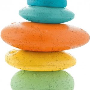 Chicco Stone balance ECO+ stapeltoren gemaakt van 80% gerecycled plastic.