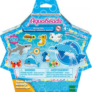 Aquabeads Sterrenparels navulling: Zeedieren Aquabeads