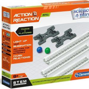 Clementoni Uitbreidingsset Action & Reaction Junior 8-delig