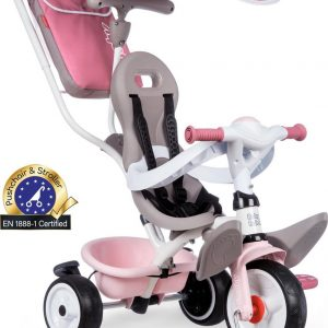 Smoby Baby Balade Plus - Driewieler - Unisex - Roze;Beige