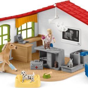Schleich -  Farm World - Dierenarts Praktijk en Huisdieren - 42502