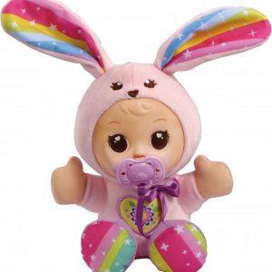VTech Little Love Mijn Knuffelpop Konijn - Educatief Babyspeelgoed